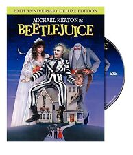 Beetlejuice 20th Annivesary Deluxe Edition DVD NEW