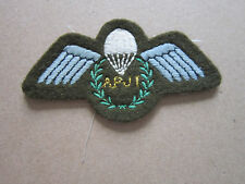 Army Assistant Parachute Jump Instructors Woven Cloth Patch Badge