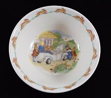 "Royal Doulton Bunnykins ""Road Trip"" Oatmeal/Porridge Bowl"