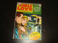 GIRLS LOVE STORIES #120 Young Romance  DC Comics 1966 FN+