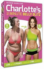 Charlotte Crosby's 3 Minute Belly Blitz Workout DVD Brand New And Sealed!!