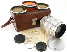 1965! KMZ HELIOS-40 1.5/85 Russian Soviet Lens M39 M42 Pentax Canon Sony Lumix