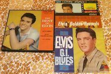 Elvis SAP-3001 THE BEST OF ELVIS 1960 Japan only 3-LP Box VG+ w/UNPLAYED DISCS