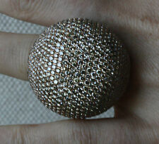 GLENN SPIRO DIAMOND ROSE GOLD DOME RING