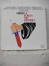 RL 01864 (4) VERDI La Forza Del Destino PRICE DOMINGO MILNES RCA STEREO 4LP BOX