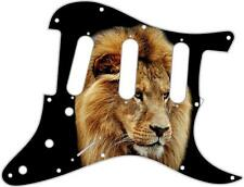 Stratocaster Strat Pickguard Custom Fender SSS 11 Hole Guitar Pick Guard Lion