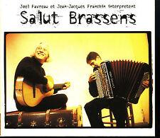 JOEL FAVREAU & JJ FRANCHIN  Salut Brassens