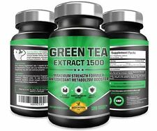 Green Tea Extract 1500 W  EGCG  High Potency Antioxidant lose wieght & Free Rads