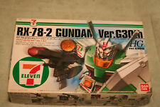 GUNDAM RX-78-2 VER.G30T  SEVEN ELEVEN LTD EDITION 1/144 scale PLASTIC MODEL KIT