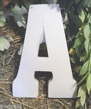 Gostatue MOLD plaster,concrete, letter A plastic mold All 26 letters available
