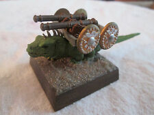 Warhammer Fantasy ~ GIANT LIZARD CANNON ~ Lizardmen Army Artillery, Painted