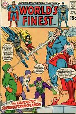 WORLD'S FINEST #190 - SUPERMAN & BATMAN TEAM-UP - 1967
