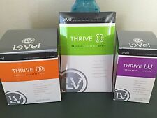 LeVel THRIVE 30 Day Women's Pack: Capsules, Vanilla Shakes, DFT Patches Le-Vel