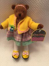 DANDLES BEARS By Little Souls LILIBETH is a real flower person 2001 Toy RARE HTF