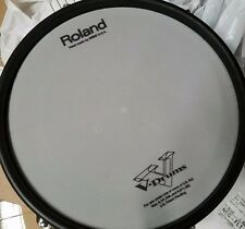 ROLAND PD-105 tom / snare drum trigger $$ white