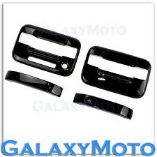 04-14 Ford F150 Truck Gloss Black 2 Door Handle+keypad+no PSG keyhole Cover