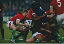 Dwayne PEEL Signed Autograph 12x8 Photo AFTAL COA RUGBY Barbarians RFU