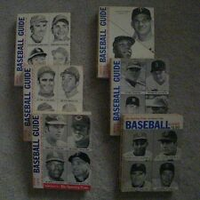 The Sporting News Baseball Guide Collection 1968-1973
