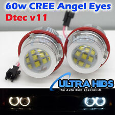 Blanco 60W CREE LED Angel Eye Halo Bombilla BMW E39 E59 E53 E60 E63 E64 E65