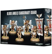BLOOD ANGELS SANGUINARY GUARD Games Workshop WARHAMMER 40K- 5-man Factory Sealed