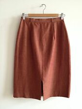 Xiao Studio Burnt Sienna Linen Skirt S, La Garconne, Totokaelo