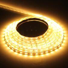 5630 5m 500cm Warm White 300 LED SMD 16.4FT Flexible Strip Lights Lamp DC 12V