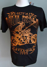 Metal Mulisha T SHIRT Black Small S NEW Anti-Est 1999 Biker Skull Black Heavy oi