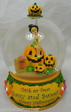 Original Disney Schneekugel Snow Globe Tinker Bell Halloween Trick or Treat