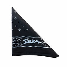 SUICIDAL TENDENCIES - OFFICIAL BANDANA - BLACK - New Official Shirt & Headwear