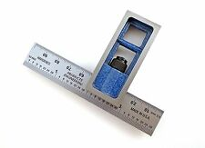 """Blem Cosmetic Second PEC Metric 100mm 4"""" double machinist square 32/64/mm/.5mm"""