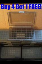 (1) BERRY'S AMMO BOXES 22LR 45 ACP 10MM 40 S&W SMOKE GREY 50 rd 408 Buy4 Get1 !
