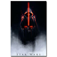 Star Wars Episode 7 The Force Awakens Movie Silk Fabric Poster 13x20 inches