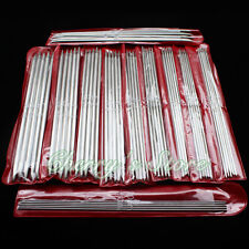 "New 55pcs 11sizes 7.9"" 20cm Double Pointed Stainless Knitting Needles"