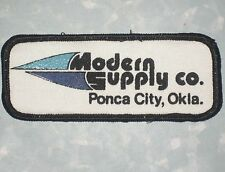 "Modern Supply Co Patch - Ponca City Oklahoma - 4 3/8"" x 1 3/4"""