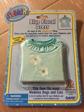 Webkinz Clothing Blue Floral Dress With Online Code From Ganz Plush