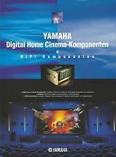 Yamaha Katalog Prospekt DSPAX1 RXV2095 DSPA2 AX892 MX1 MX2 CX1 CX2 CDX596 TX492