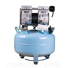 Dental AIR UNIT Medical silent Noiseless Oil fume Oilless Air Compressor 30L