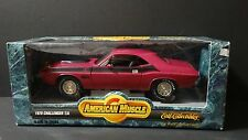 Ertl American Muscle 1969 Dodge Challenger T/A 340 Six Pack 1:18 Diecast Car