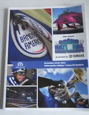 2013 GRAND NATIONAL CHAMPIONSHIPS PROGRAM INDIANAPOLIS IN. LUCAS OIL STADIUM