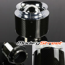 """3"""" INLET/5""""H REAL CARBON CANISTER HI-FLOW PERFORMANCE DRY AIR FILTER FOR INTAKE"""