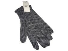 Ralph Lauren RRL Knit Tweed Herringbone Gloves Black White Double RL Polo