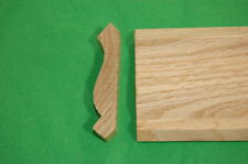 "lot of 6pc of 3/4""x3-1/4""x7' Oak Crown Moulding"