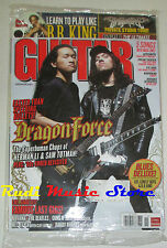 GUITAR WORLD Magazine SEALED Nov 2008 CD Dragon Force Aerosmith B.B King Nirvana