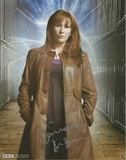 Catherine Tate as Donna from Dr Who hand signed photo UACC AFTAL