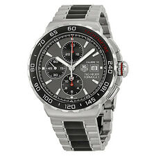 Tag Heuer Formula 1 Anthracite Dial Steel and Ceramic Chronograph Mens Watch
