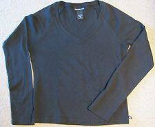 Junior's Small Black Cotton Top - Express Jeans