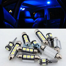 13PCS Blue Canbus Interior LED Light Package For 99-05 MK4 VW Golf GTI Jetta