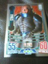 Dr who alien attax 50 th anniversary foil card number 23 strax