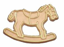 Capias Mini Charms For Babies Showers Birthdays Favors - Gold Horse