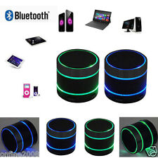 Mini Bluetooth Wireless Portable Speaker With LED Light For iPhone/iPad MP3/4